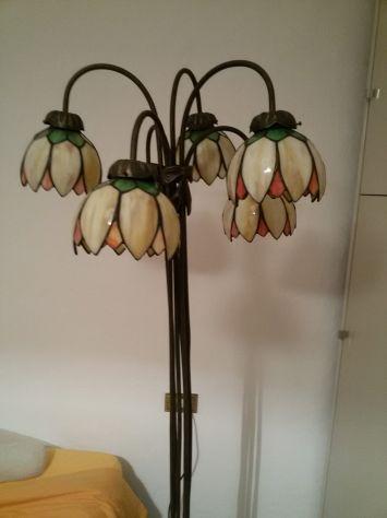 Lampada Da Terra Tiffany Originale Annunci Bergamo