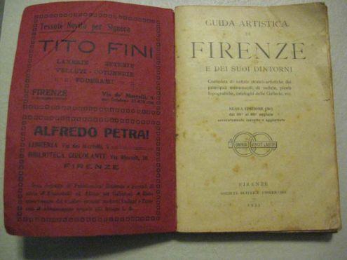 GRAZIOSA PICCOLA GUIDA ARTISTICA DI FIRENZE DEL 1933 - Foto 2