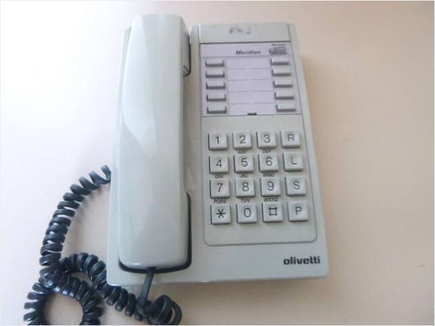 Telefono vintage bianco Usato