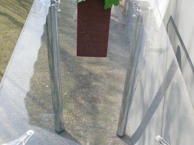 Tavoli plexiglass con gambe cromate design expo - Foto 4