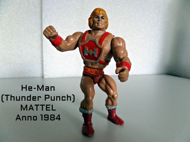 He-Man (master of the universe) Mattel (anno 1984) Thunder Punch