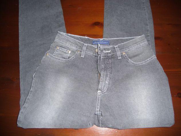 Jeans Trussardi nero tg 31 elasticizzato