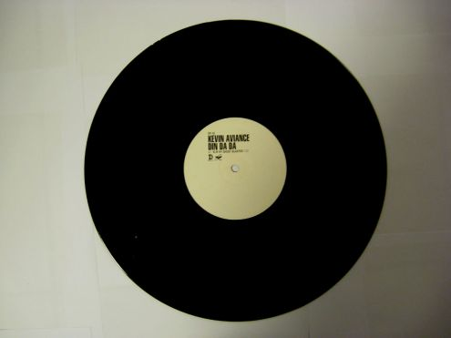 Vinile 45 rpm promo - Kevin Aviance DIN DA DA