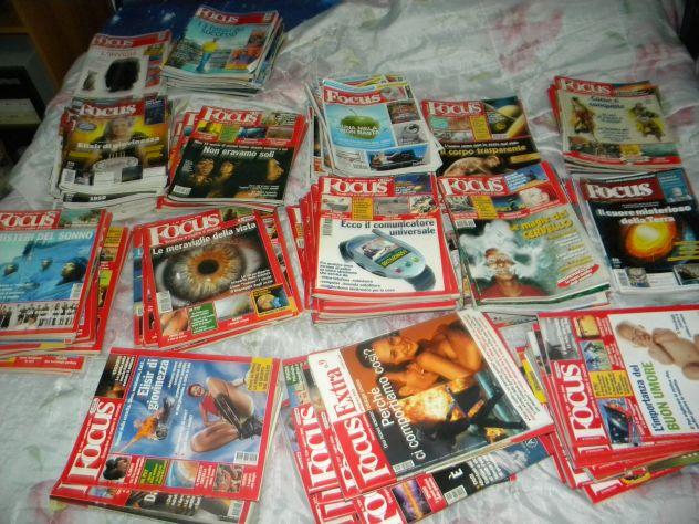 Collezione rivista Focus dal 1992 al 2015