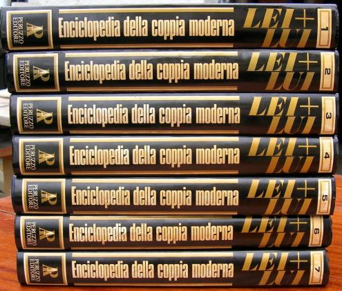 LEI LUI ENCICLOPEDIA DELLA COPPIA MODERNA Alberto Peruzzo Editore anno 1975 …