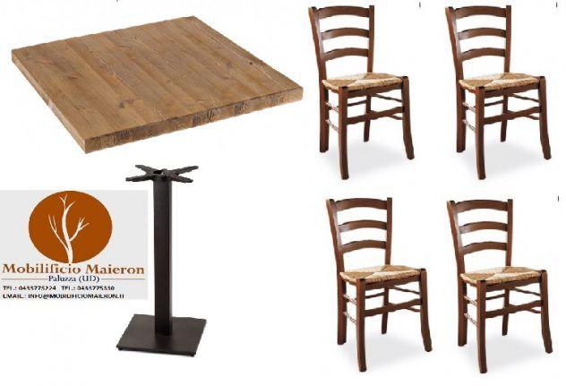 Set Tavoli e sedie ristorante pub pizzeria cod 116
