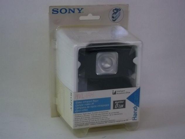 Lampada video infrarossi per riprese notturne SONY  HVL-IRH.