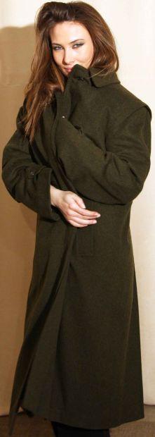 Cappotto castorino guscio loden