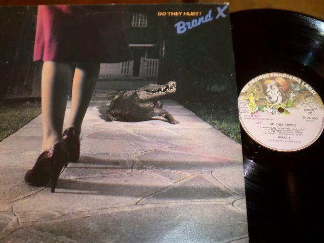 BRAND X - Do They Hurt ? - LP / 33 giri 1980 Charisma Italy