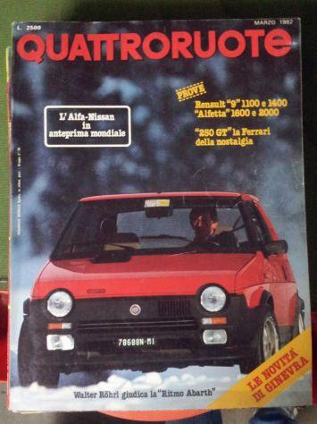 Riviste QuattroRuote 1980 - 81 - 82 - 83 - 84 - 86 - Foto 8