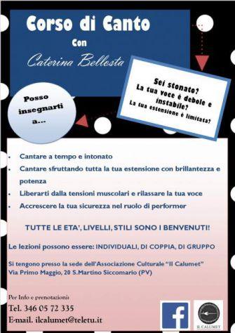 Lezioni di canto a Pavia con Caterina Bellosta - Annunci Pavia