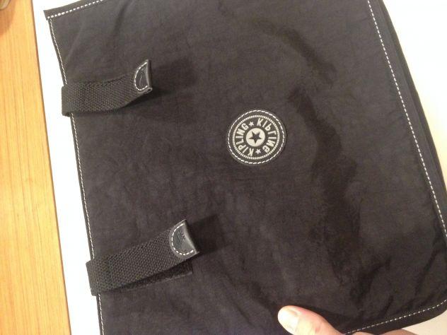 Kipling Borsa porta pc-notebook-tablet, morbida, nera