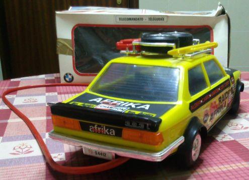 Modellino giocattolo BMW telecomandato anni 80 - Foto 5