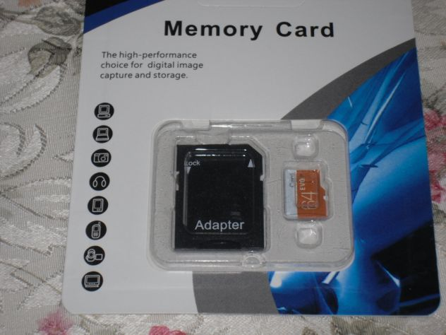 Micro SD 64 GB- Nuove-