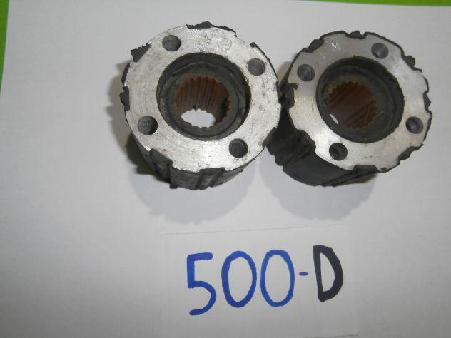 "Giunti elastici semiasse Fiat 500d Millerighe ""NUOVI""  Elastic Jo … - Foto 3"