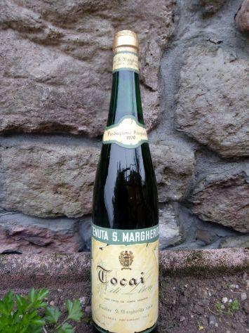 Bottiglia di vino TOCAI pregiato da collezione