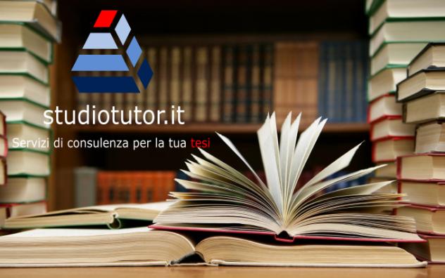 Tesi di Laurea Aiuto, Assistenza, Consulenza, Redazione