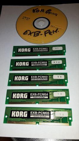 Scheda Scsi + Korg Exb-Pcm-01/02/03/04/05 + Floppy + Korg triton - Foto 7