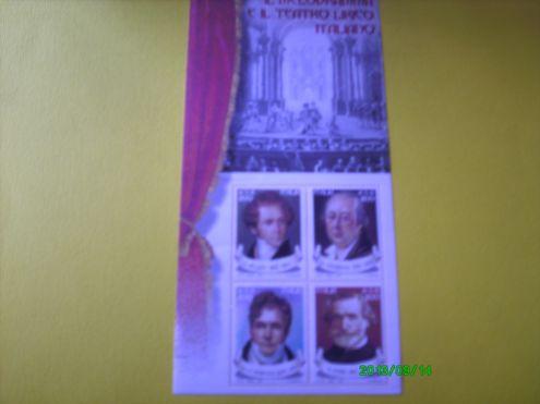 FRANCOBOLLI ITALIA DESIGN 2000- MELODRAMMA 2001 - Foto 3