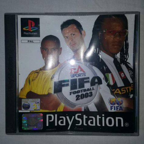 Fifa 2003 - Gioco PS1 - EA Sport