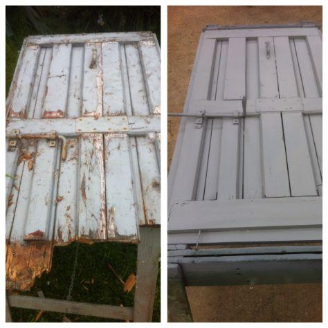 verniciatura restauro infissi finestre scuri legno ferro - Foto 2