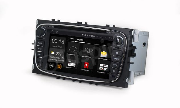 ANDROID DVD autoradio 2 DIN navigatore Ford Focus Mondeo C-Max S-Max - Foto 6