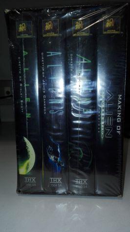 ALIEN COFANETTO IN VHS - Foto 2