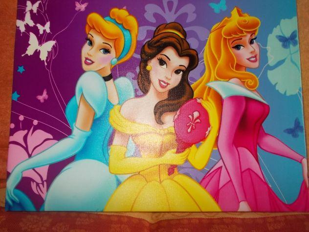 Quadretto principesse Disney