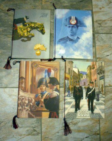 10 CALENDARI dal 1994 al 2015 Calendario storico dei carabinieri