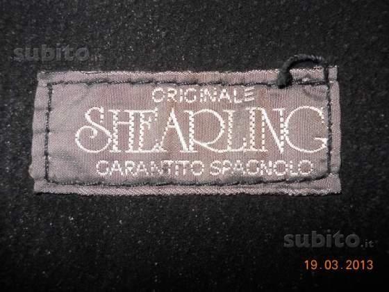 Cappotto nero shearling - Foto 4