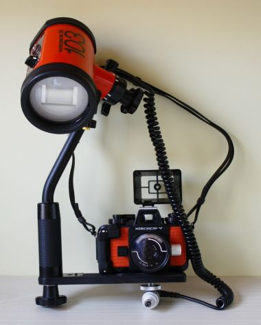 Nikonos V Flash SB103 e accessori x fotografia subacquea - Foto 5