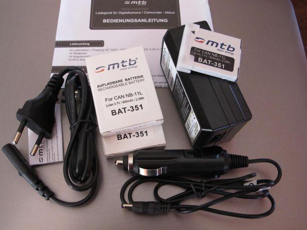 MTB digi-charger  DCL-638 canon NB-11L +2 bat.-Li-ion351