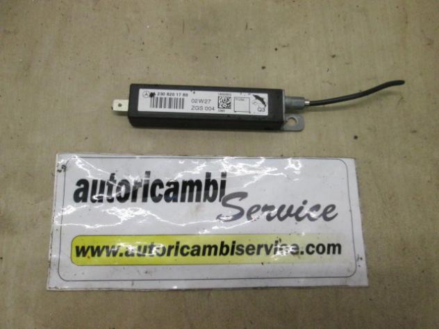 2308201789 AMPLIFICATORE ANTENNA RADIO MERCEDES SL R230 5.0 B 2P AUT 225KW  …