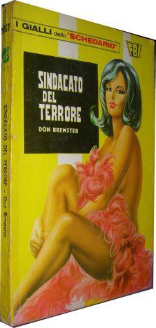 I gialli dello schedario - 067 - Sindacato del terrore - Don Brewster  Editore:
