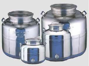 Fusto olio inox Sansone mod. Europa 50 litri - Ferramenta Cardelli