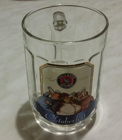 Bicchiere di birra/boccale.Paulaner Munchen.Oktoberfest di Monaco di Baviera nuo