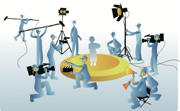 Produzione televisiva seleziona assistente redattore