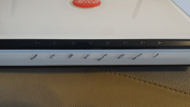 Modem Router ADSL Telecom Alice Gate 2 Plus by Pirelli - Foto 2