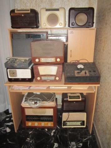 Prova radio a valvole transistors Usato