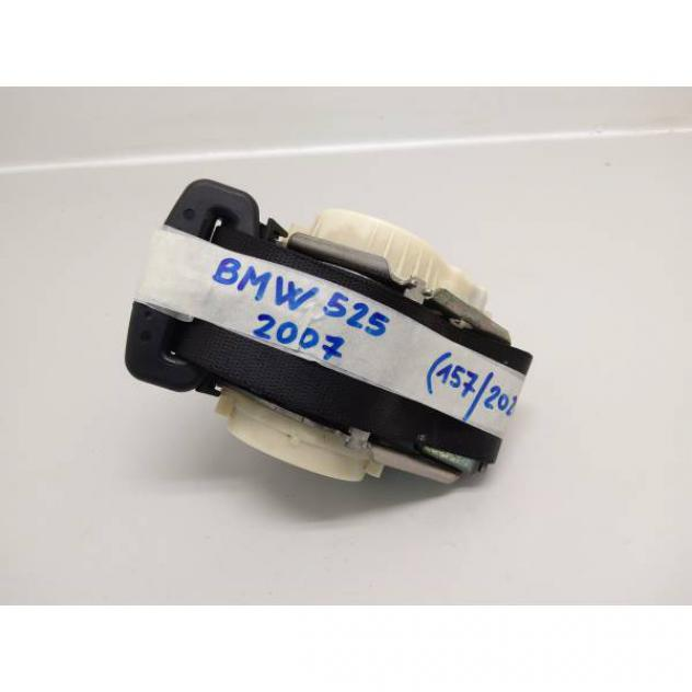 72119132827 CINTURA DI SICUREZZA POSTERIORE SX GUIDA BMW Serie 5 E61 Tourin …
