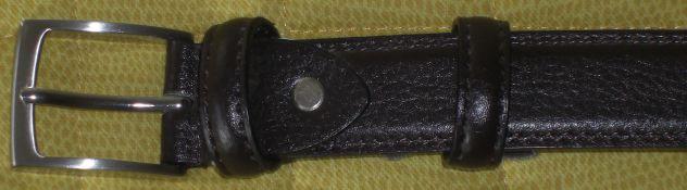 Cintura uomo OVS 100_105 nuova, colore marrone scuro.