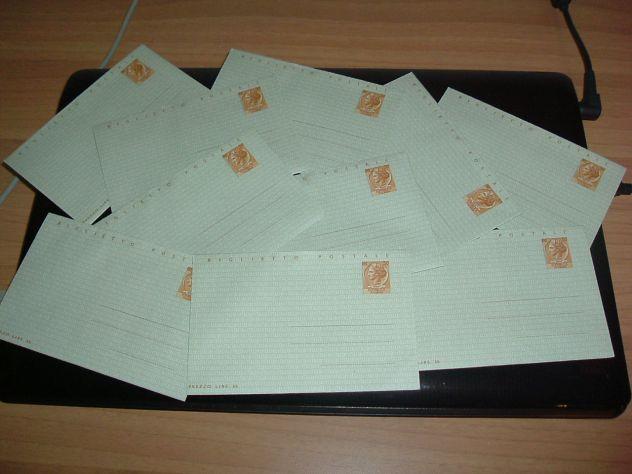 Biglietto postale anni '60 da lire 30