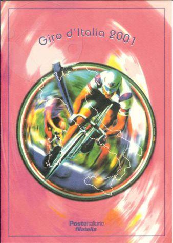 2001 FOLDER n.6 - GIRO d'ITALIA e CENTENARIO U.C.I