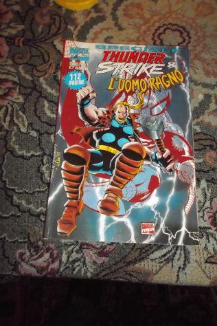 marvel top 2:speciale thunderstrike e l 'uomo ragno(marvel italia,1995