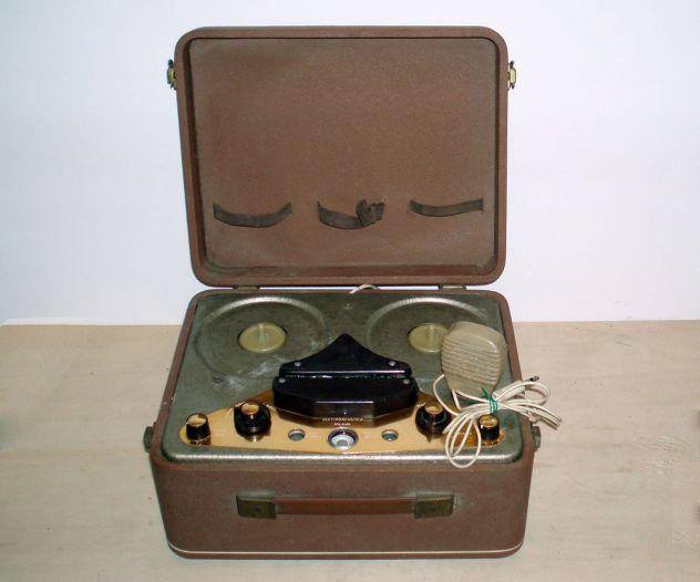 Magnetofono Registratore Valvolare Vintage