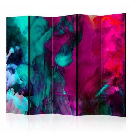 Paravento Multicolore ARREDALACASA N. 13 Con 5 Ante
