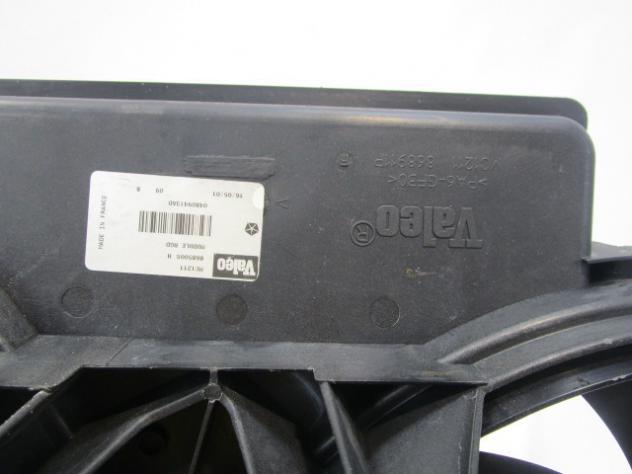 868501E ELETTROVENTOLA CHRYSLER VOYAGER 2.5 DIESEL 5M 5P 104KW (2001) RICAM … - Foto 4