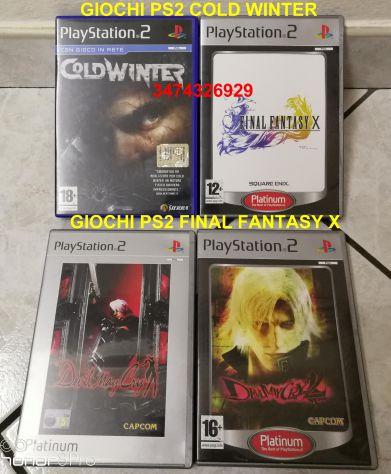 Giochi PS2 Cold Winter e Final Fantasy x platinum