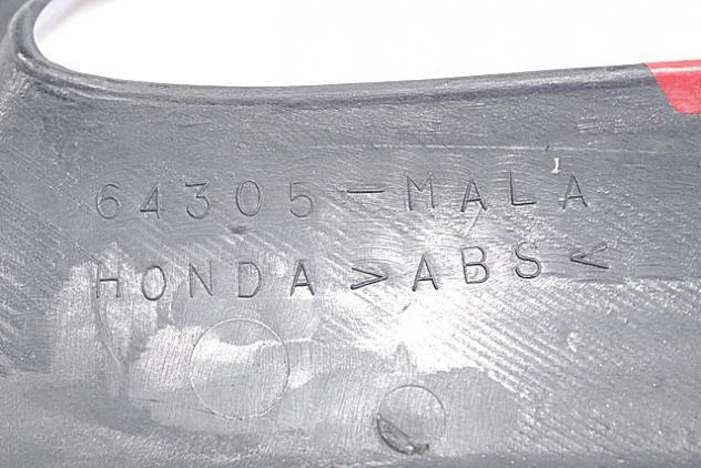 CARENA PRESA ARIA DESTRA HONDA CBR 600 F 1995 - 1996 64304MAL600ZA RIGHT SI … - Foto 3