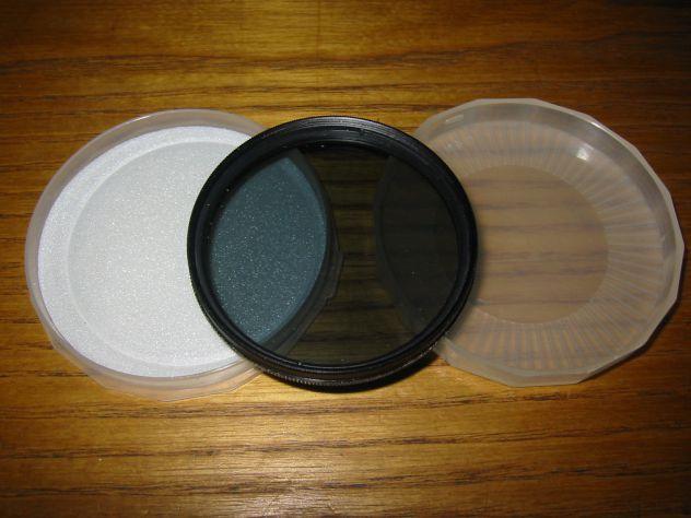 Filtro polarizzatore diametro 55mm.